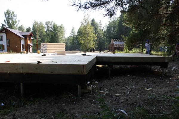постройка дома на винтовом фундаменте